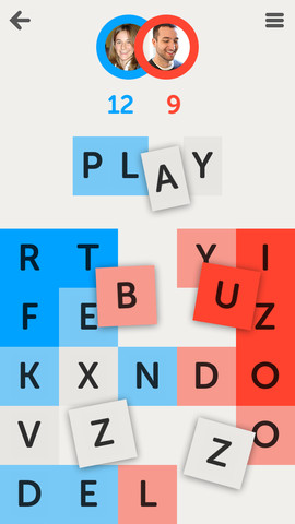 Letterpress Screenshot from the iOS App Store